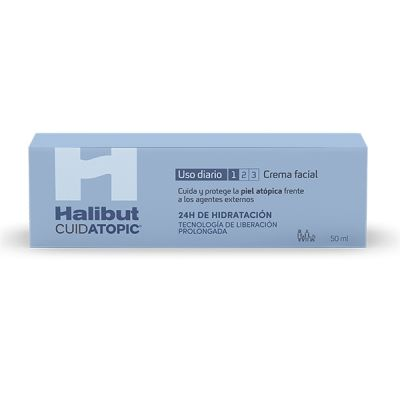 Halibut Cuidatopic Uso Diario Crema Facial 50ml