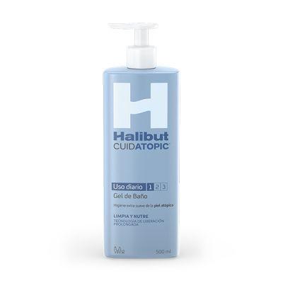 Halibut Cuidatopic Usa Diario Gel de Baño 500ml