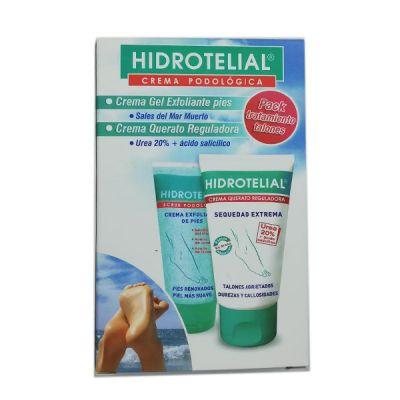 Hidrotelial Pack Tratamiento Talones Exfoliante y Crema
