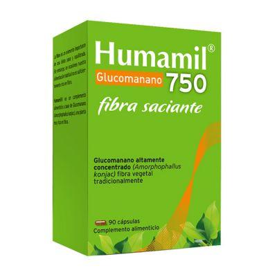 Humamil Glucomanano 750 90caps