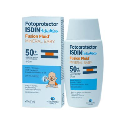 Isdin Fotoprotector Pediatrics Baby Mineral Fusion Fluid SPF 50+ 50 ml