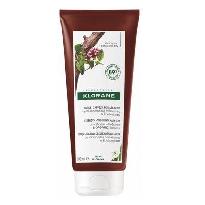 Klorane acondicionador a la Quinina y Edelweiss Bio  200ml