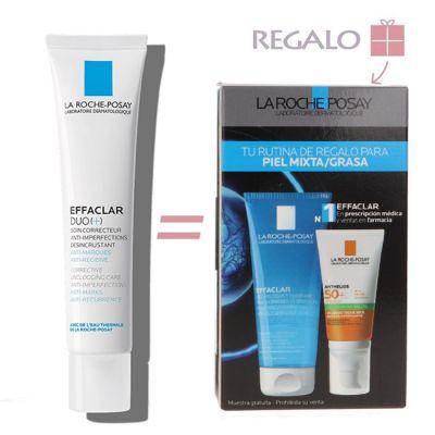 La Roche Posay Effaclar Duo [+] 40ml + Regalo RUTINA PIEL MIXTA GRASA