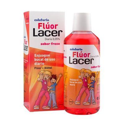 Flúor Lacer Colutorio Diario Sabor Fresa 500ml