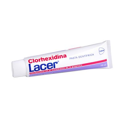 Lacer Clorhexidina Pasta Dentifrica 75ml