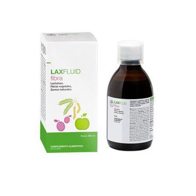 Laxfluid Fibra Jarabe Sabor Ciruela 300ml