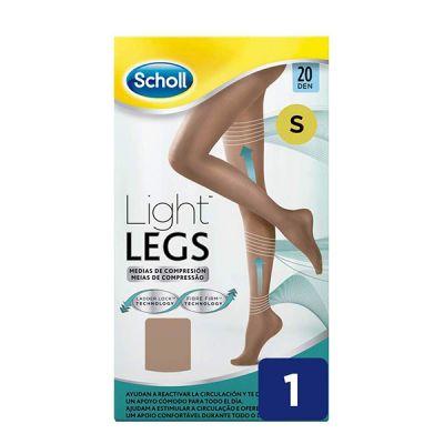 School Light Legs Medias de Compresión 20 Den Color Beige Talla S