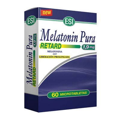 Esi Melatonina Pura Retard 1.9 mg 60 Microtabletas