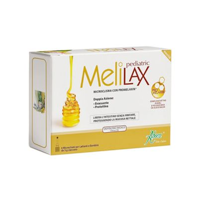 Aboca Melilax Pediatric Microenemas 6und