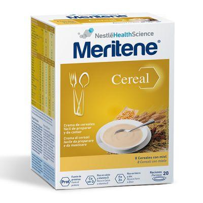 Meritene Cereal Instant 8 Cereales con Miel 20 Raciones