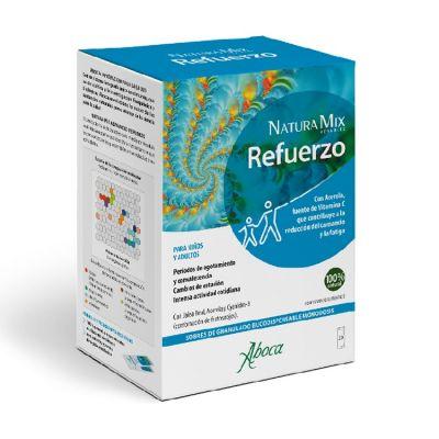 Aboca Refuerzo Natura Mix 20 Sobres Bucodispersables