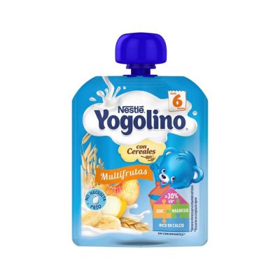 Nestle Yogolino Bolsita Multifrutas con Cereales 90g
