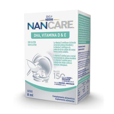 Nestle NANCARE DHA Vitamina D y E 8ml