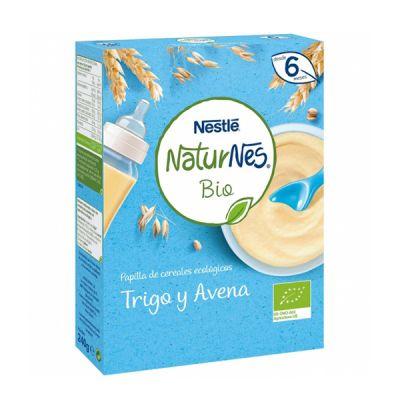 Nestlé Naturnes Bio Papilla Trigo y Avena 240g