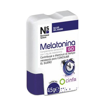 Ns Melatonina Go 60comp