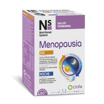 Ns Salud Femenina Menopausia Dia y Noche 60 comprimidos