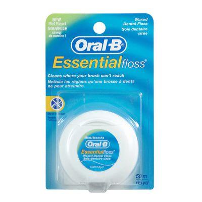 Oral B Essental Floss Seda Dental 50m