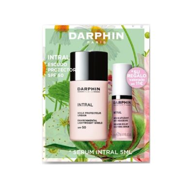 Darphin Intral Escudo Antipolucion Protector SPF50+ 30 ml + Intral Serum 5ml de Regalo
