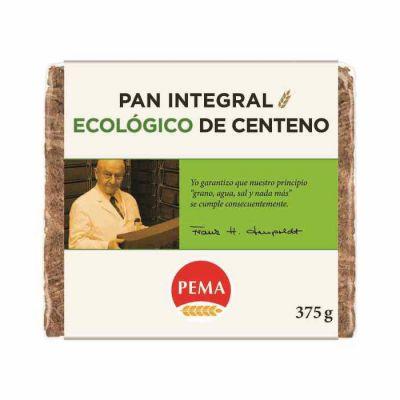 Pema Biocop Pan Integral De Centeno Ecológico