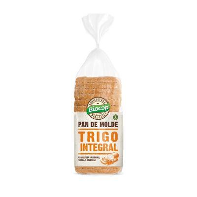 Biocop Pan de molde blando Trigo integral 400g
