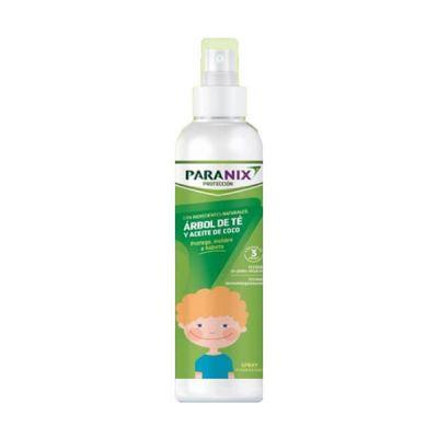 Paranix Protección Árbol de Té y Aceite de Coco  Verde spray 250ml