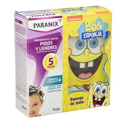 Paranix Spray Antipiojos y Liendres Edicion Bob Esponja