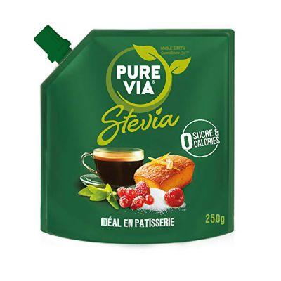 Pure Via Stevia Ideal para Postres Super Crujiente 250g