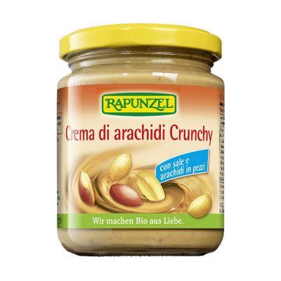 Rapunzel Crema de Cacahuete Crunchy Sal 250g