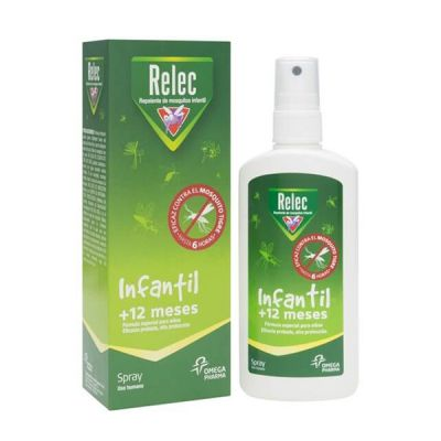 Relec Repelente Antimosquitos Infantil spray 100ml