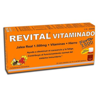 Revital Vitaminado Forte 1500 20 Ampollas