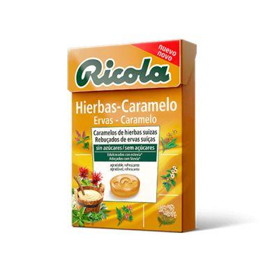 Ricola Caramelos de Hierbas Caramelo 50g