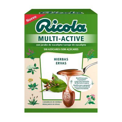 Riola Multi Active Hierbas Caramelos 51g