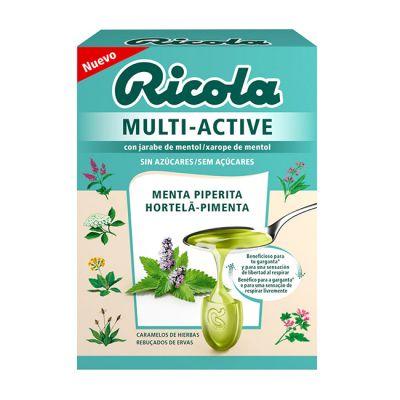 Riola Multi Active Menta Piperita Caramelos 51g