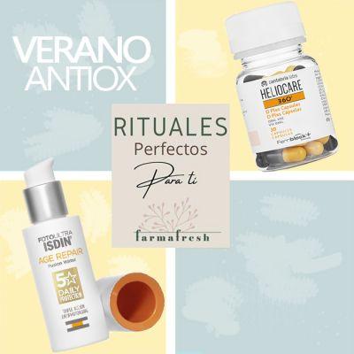 Ritual ANTIOX VERANOIsdin Age Repair + Heliocare 360 D plus