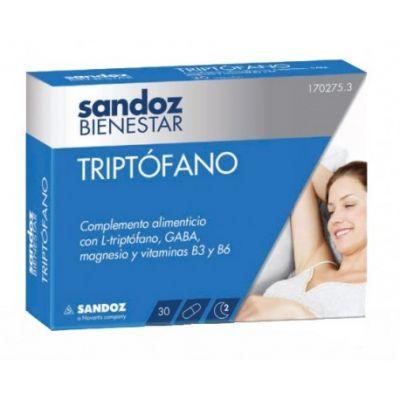 Sandoz Bienestar Triptófano 30caps