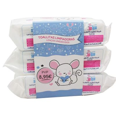 Sebamed Baby Toallitas Pack Ahorro 3 x 72 und