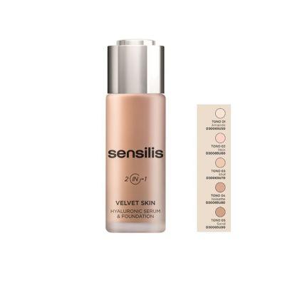 Sensilis Velvet Skin 02 Noix 30ml