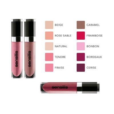Sensilis Shimmer Lips Gloss Confort Labios Tono 07 Fresa 6,5ml