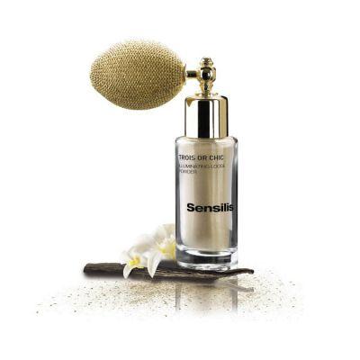Sensilis Trois or Chic Polvos Iluminadores Perfumados Tono 01 White Gold 6,5gr