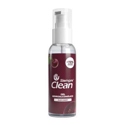 Siempre Clean Pulverizador Solución Hidroalcohólica 60ml Cherry