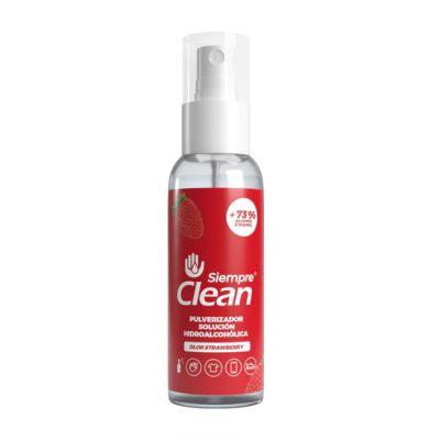 Siempre Clean Pulverizador Solución Hidroalcohólica 60ml Strawberry