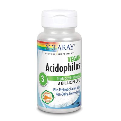 Solaray Acidophilus Vegan 30caps