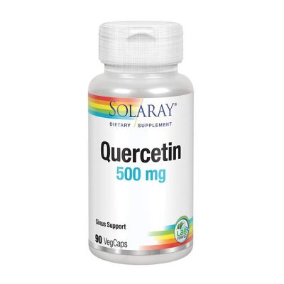 Solaray Quercetin 500mg 90caps Vegetales