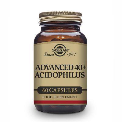 Solgar Advanced 40+ Acidophilus 120 caps Vegetales