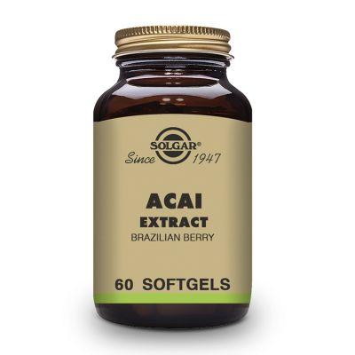 Solgar Acaí Extracto 60 capsulas blandas