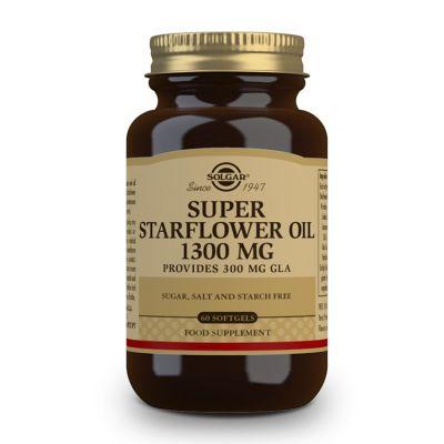 Solgar Aceite de Borraja 1300 mg 60 capsulas blandas