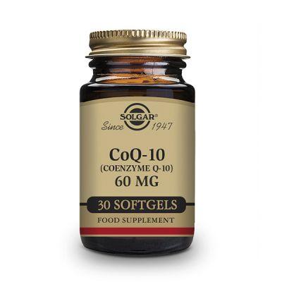 Solgar CoQ10 60 mg 30 caps gelatina blanda en aceite