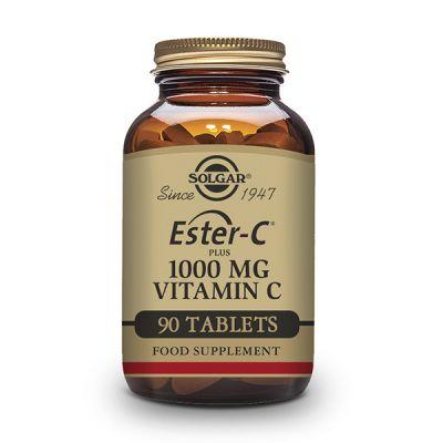 Solgar Ester-C Plus 1000mg 90 caps Vegetales