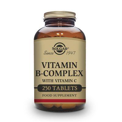 Solgar B Complex con Vitamina C 250 comp