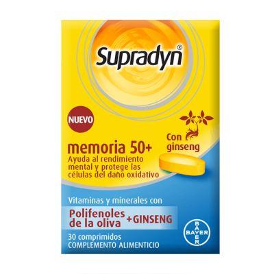 Supradyn Memoria 50+ 30comp